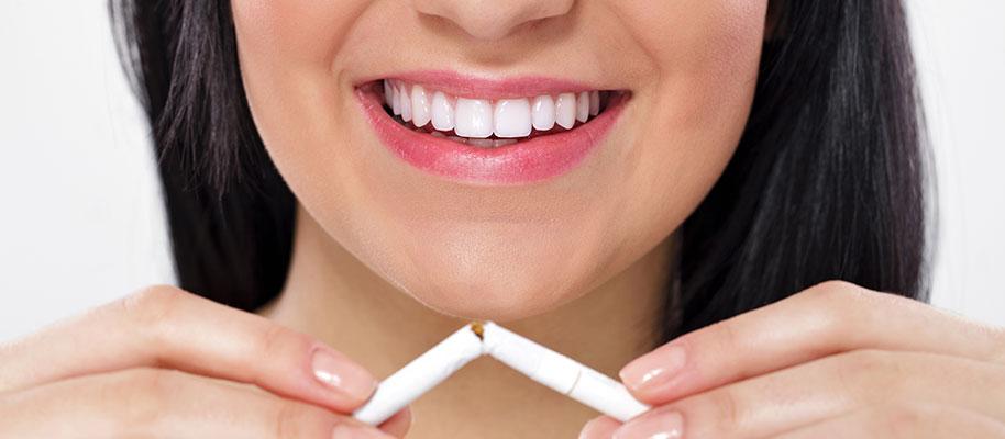 Spegni la sigaretta e accendi il tuo sorriso!